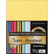 Core'dinations Textured Super Assortment - Value Pack Cardstock