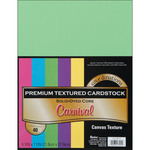 """Carnival - Textured - Core'dinations Value Pack Cardstock 8.5""""X11"""" 40/Pkg"""