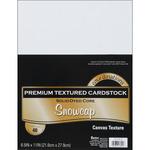 "Snowcap - Textured - Core'dinations Value Pack Cardstock 8.5""X11"" 40/Pkg"