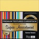 "Core'dinations Value Pack Cardstock 12""X12"" 100/Pkg - Super Assortment - Texture"