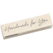 Large Handmade For You - Hero Arts Mounted Rubber Stamps