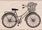 Bicycle - Hero Arts Mounted Rubber Stamps