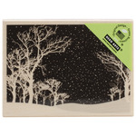 Snowy Night - Hero Arts Mounted Rubber Stamps
