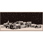 Winter Town - Hero Arts Mounted Rubber Stamps