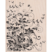 Leafy Vines - Hero Arts Mounted Rubber Stamps