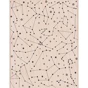 Constellation Background - Hero Arts Mounted Rubber Stamps