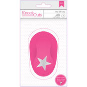 """Knock Outs 1.5"""" Punch - Star - American Crafts"""