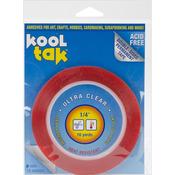 """.25""""X16yd - Kool Tak Ultra Clear Tape"""