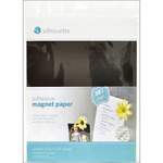 "Silhouette Adhesive Magnet Paper 8.5""X11"" 4/Pkg"