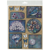 Timeless - Penny Black Sticker Sheet