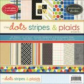 Dots, Stripes & Plaids - 12x12 Paper Stack Pads