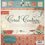 Coral Couture - 12x12 Paper Stack Pads
