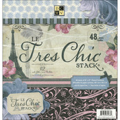 Le Tres Chic - 12x12 Paper Stack Pads