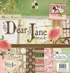 "Dear Jane - Paper Stack 12""X12"" 48/Pkg"