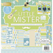 "Little Mister - Paper Stack 12""X12"" 48/Pkg"