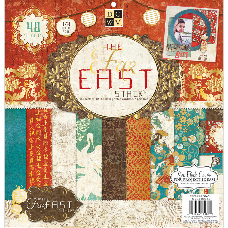 Far East 2 - Paper Stack 12