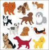 Dogs - SandyLion Classpak Stickers 3/Pkg