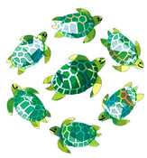Sea Turtles - SandyLion Classpak Stickers 3/Pkg