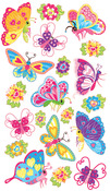 Magical Butterflies Classic Stickers - Sticko Stickers