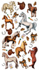 Harvest Ponies Classic Sticko Stickers