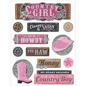 Country Girl - Chipoxy Sticker