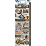 Marines - Cardstock Stickers