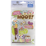 You're A Hoot - Paper House 3D Stickers