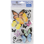 Butterflies - Paper House 3D Stickers