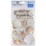 Beach Comber - Paper House 3D Stickers