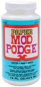 16oz - Mod Podge Paper Matte Finish