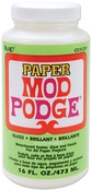 16oz - Mod Podge Paper Gloss Finish