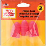 2 Large & 1 Medium - Mod Podge Finger Caps 3/Pkg