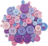 Pretty Princess - Dress It Up Button Super Value Pack 3oz