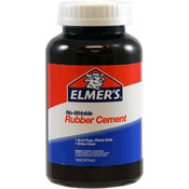 16oz - Elmer's No-Wrinkle Rubber Cement