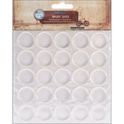 "Round - Vintage Collection Epoxy Dots 1"" 50/Pkg"