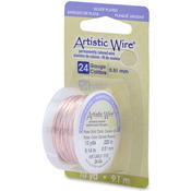 Rose Gold - Permanent Colored Copper Wire 24 Gauge 10yd