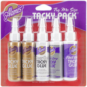 Aleene's Trial Tacky Pack - 5/Pkg