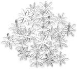 Snow Reflection Gems 23/Pkg - Favorite Findings Buttons
