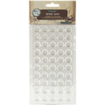 "Round - Vintage Collection Epoxy Dots .5"" 100/Pkg"