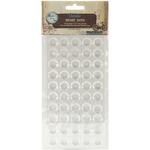 "Round - Vintage Collection Epoxy Dots .5"" 100/Pkg"
