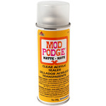 Matte - Mod Podge Clear Acrylic Aerosol Sealer 12oz