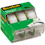".75""X300"" 3/Pkg - Scotch Magic Tape Matte"