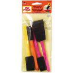 Mod Podge Foam Brushes 4/Pkg-