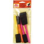 Mod Podge Foam Brushes 4/Pkg-