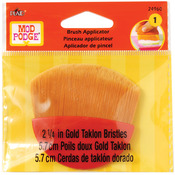 Gold Taklon - Mod Podge Brush Applicator 2.25""