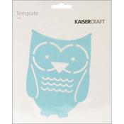 "Owl - Template 6""X6"""