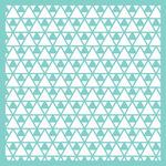 """Triangles 12""""X12"""" Template - Kaisercraft"""