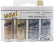 Everyday 1 - WOW! Extra Fine Glitter .34oz 4/Pkg