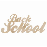 Back To School - Wood Flourishes