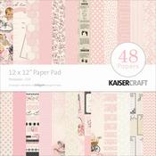Peekaboo Girl  Paper Pad - Kaisercraft